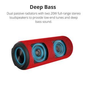 Image 2 - Tronsmart t6 mais alto falante bluetooth graves profundos 40w tws portátil ipx6 função banco de potência à prova dwaterproof água soundpulse soundbar