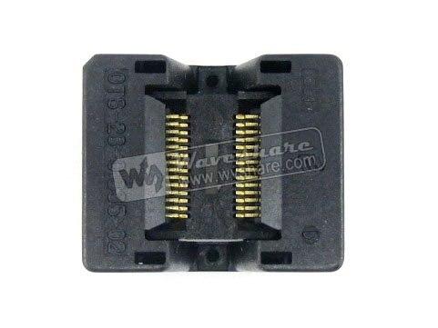 ФОТО Modules SSOP28 TSSOP28 OTS-28-0.635-02 Enplas IC Test Burn-in Socket Programming Adapter 0.635mm Pitch 3.94mm Width