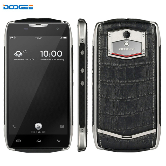Original DOOGEE T5 32GB/3GB Network 4G Waterproof IP67 5.0'' Android 6.0 MTK6753 Octa Core Replaceable Back Cover Cell Phones
