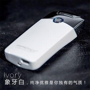 Image 2 - Mechero electrónico recargable por USB, accesorio para cigarrillo, Mechero con truenos de pulso