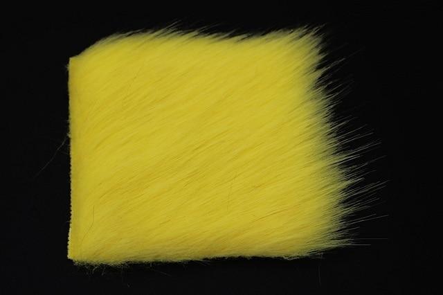 Tigofly 8 pi/èces 8 cm x 8 cm Furabou Craft Fourrure 8 couleurs unies en fibre synth/étique