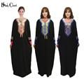 Oriente médio Muçulmano vestido abaya Islâmico Turco roupas femininas Roupas robe musulmane Bordado Dubai Kaftan Vestidos Plus Size