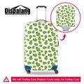 Милые Apple Печатных Крышка Багажного Отделения для Путешествия моды багажа защитные чехлы для Девочек Водонепроницаемый защитный чемодан охватывает