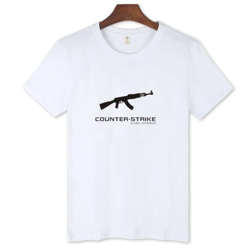 LUCKYFRIDAYF CSGO Trendy Black Short Sleeve cs go men women T Shirt and Funny T shirts Streetwear Cotton tee shirts clothing in T Shirts from Women 39 s Clothing
