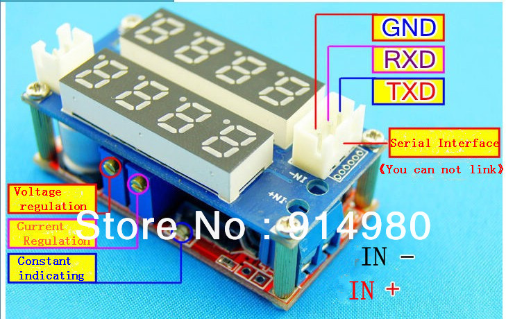 Constant current constant voltage module LED driver lithium ion battery charging