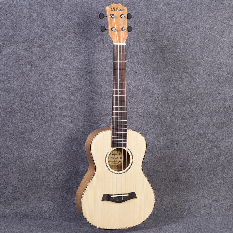 Top Solid Tenor Ukulele 26 Inch Mini Guitar 4 Strings Mahogany Picea Asperata Ukelele Guitarra Handcraft Uke High Quality 26 inchtenor ukulele guitar handcraft made of mahogany samll stringed guitarra ukelele hawaii uke musical instrument free bag