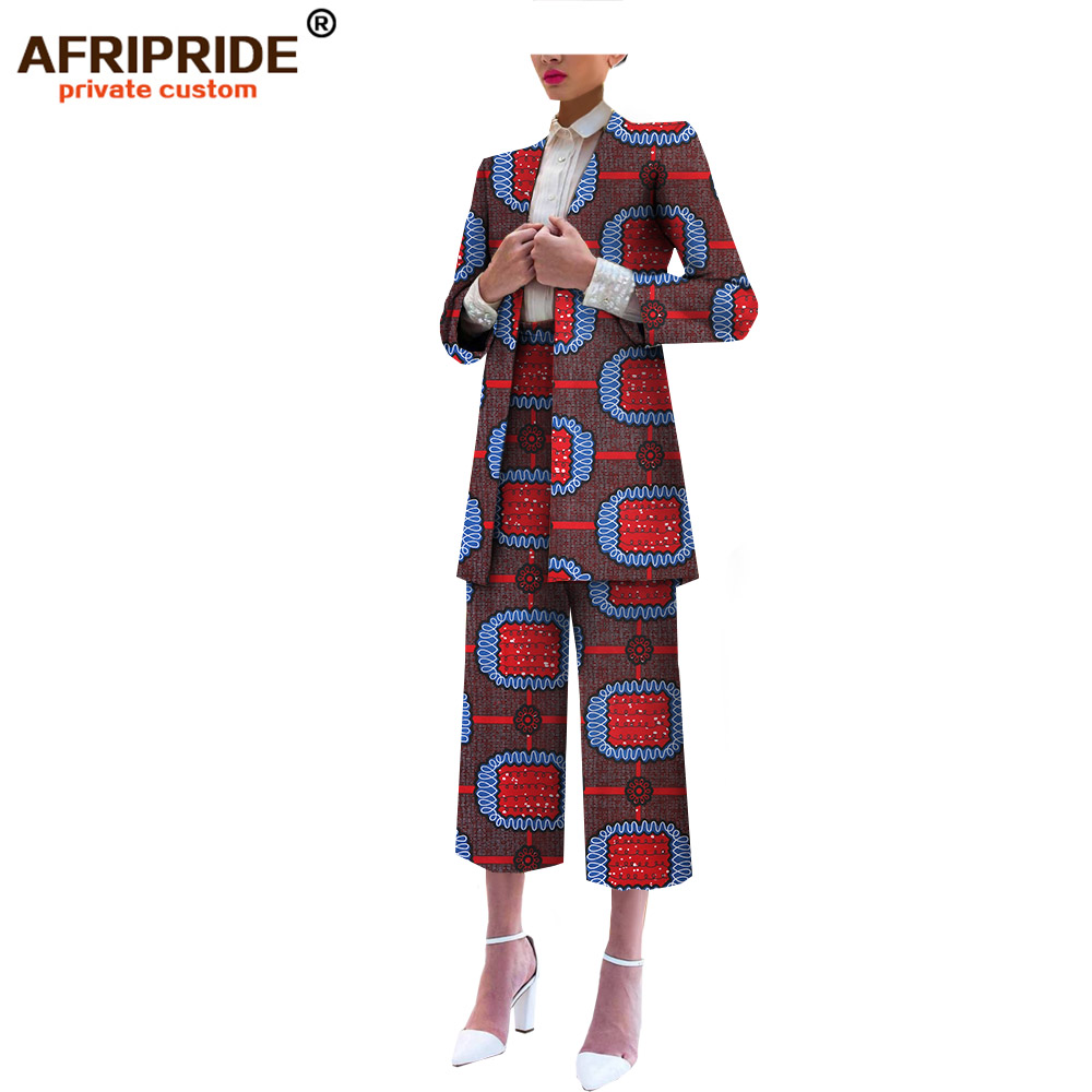 2019 Original ARIPRIDE private custom suit set for women long-sleeve top and high waisted trousers fashion working suit  A722608