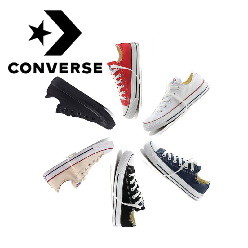 Converse Men and Women Non slip Outdoor Casual Classic Canvas Skate Shoes Men and Women Sports Shoes Low To Help Sports Designer