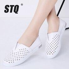 STQ 2020 Spring Women Flats Shoes