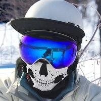 Nandn Men Women Snowboard Sports Ski Goggles Double Lens Anti fog Professional Ski Glasses Exchengeable Lens Big Spherical NG3