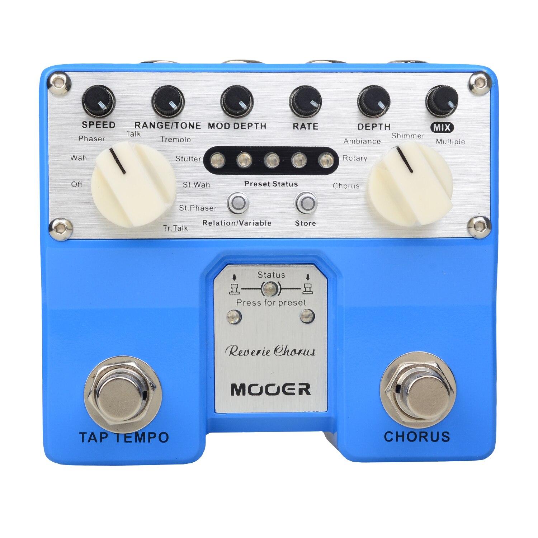 Mooer Reverie Chorus Digital Chorus Pedal Electric Guitar No Tone Loss Dual Footswitch TCH1 mooer ensemble queen bass chorus effects pedal