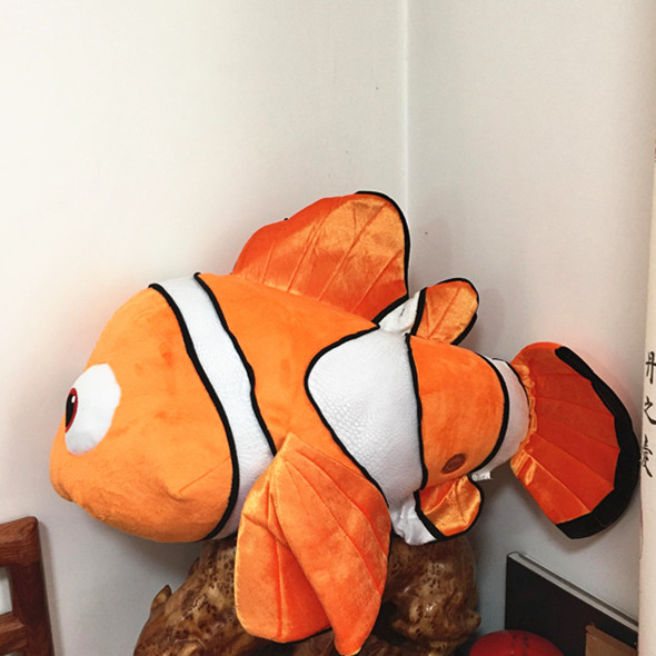 Limited Collection Big Size Nemo Clownfish Animals Fish Stuffed & Plush Animals Toys Stuffed Animals & Plush Doll Plush Toy цена