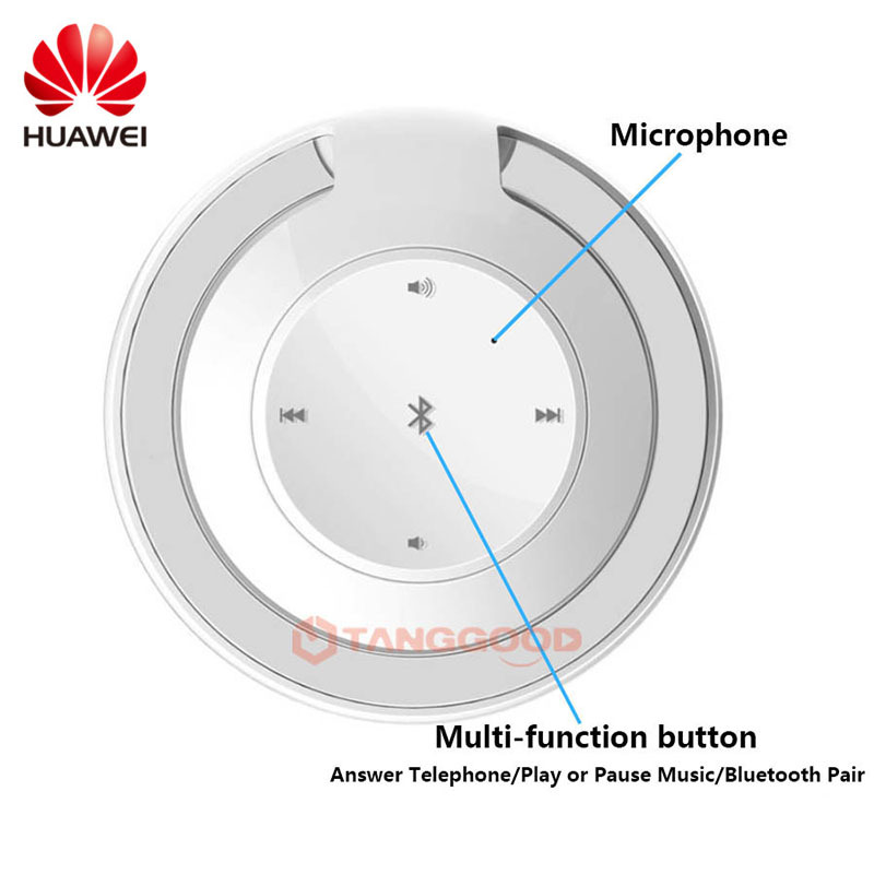 Huawei Bluetooth Speaker Subwoofer Speakers Singing Swan AM08 Wireless  Speaker Portable Mini Bluetooth Speaker For IOS Android