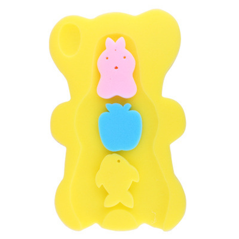 Baby Cartoon Animal Anti-slip Mat Bath Mat Tub Non-Slip Bath Tubs Mats Kids Pad Portable Shower Accessory P15