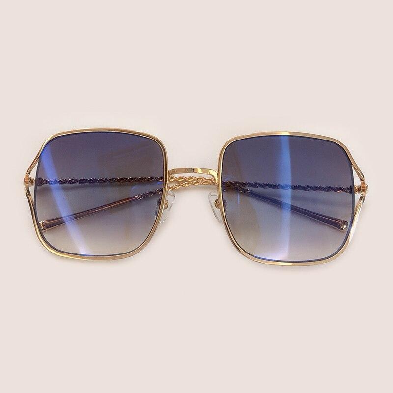 Mit no Hohe 4 Box no no No no Sol 2 Quadrat no Sonnenbrille Legierung Qualität Mode 2019 1 Marke Brillen Rahmen Feminino Luxus 6 De Designer 5 3 Oculos Frauen rrqwa4TxB