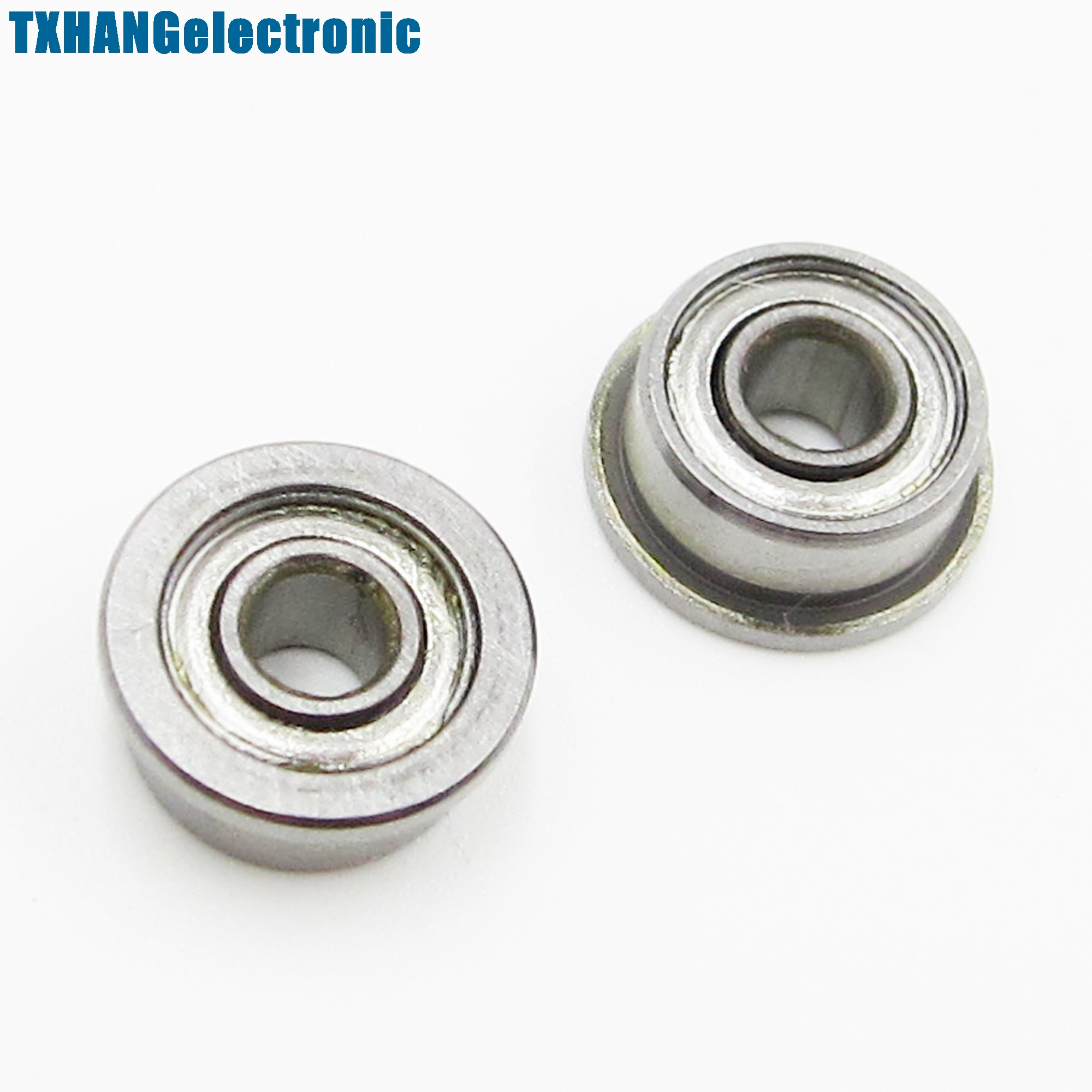 Search For Flights 10pcs F693zz 3*8*4mm Miniature Deep Groove Ball Flanged Cup Bearings 3x8x4mm Online Discount Integrated Circuits Electronic Components & Supplies