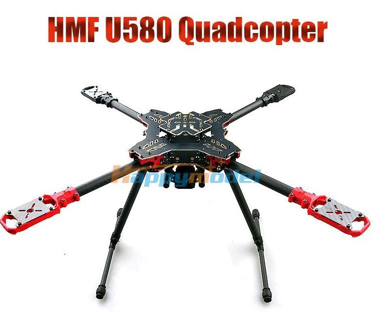HMF U580 Totem Series RC Drone Quadcopter Frame Kit 4 Axis Foldable Rack Carbon Umbrella FPV Landing Gear