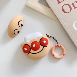 Image 5 - 3D Cute Cartoon Anpanman Baikinman Headphone Cases For Apple Bluetooth Earphone Airpods 1 2 Silicone Protective Sleeve Cover