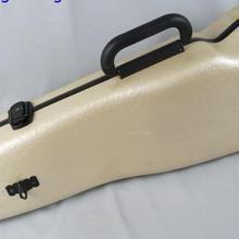 Жесткий белые зерна стекловолокна зазор модель скрипки чехол