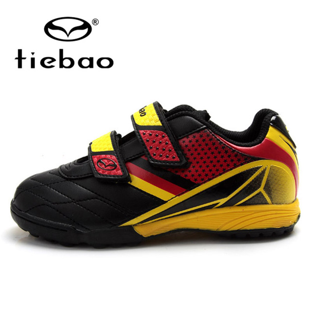 0bb03fb13b0 TIEBAO Professional Children Kid s TF Turf Shoes Sneakers Outdoor Football  Boots Boys Girls National Flag Training