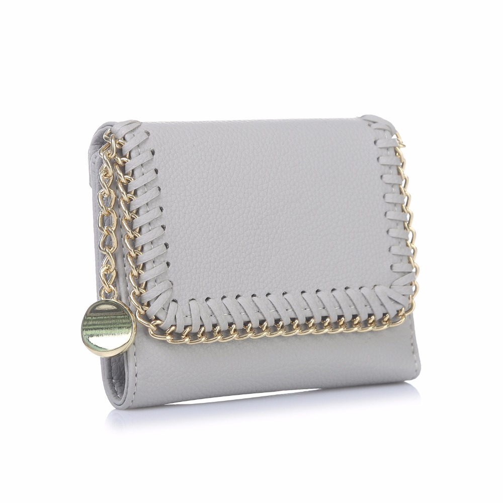 com zíper moeda da carteira Female Wallet Pattern Tipo : Weave