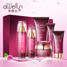 Blakish Chrysanthemum Skin Care Set 6pcs Face Cream 50g+Cleanser 120g+Eye Cream 30g+BB Cream 40ml+Toner 140ml+ Lotion 110ml