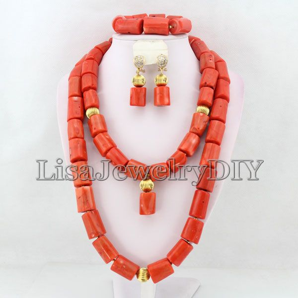 Amazing!New Arrival African Coral Beads Jewelry Sets Hot Nigerian Wedding African Beads Jewelry Set HD3097 african symbolism
