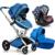 Luxuoso do bebê carrinho de bebê 3 em 1 carrinho de bebê, carrinhos de bebê recém-nascido infantil marcas de carrinhos de venda, lovely crianças carrinho de bebé 3 em 1, frete grátis