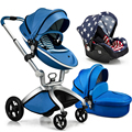 luxury baby stroller 3 in 1 pram,infant newborn baby strollers brands carriages sale,lovely kids pushchair 3 in 1,free shipping