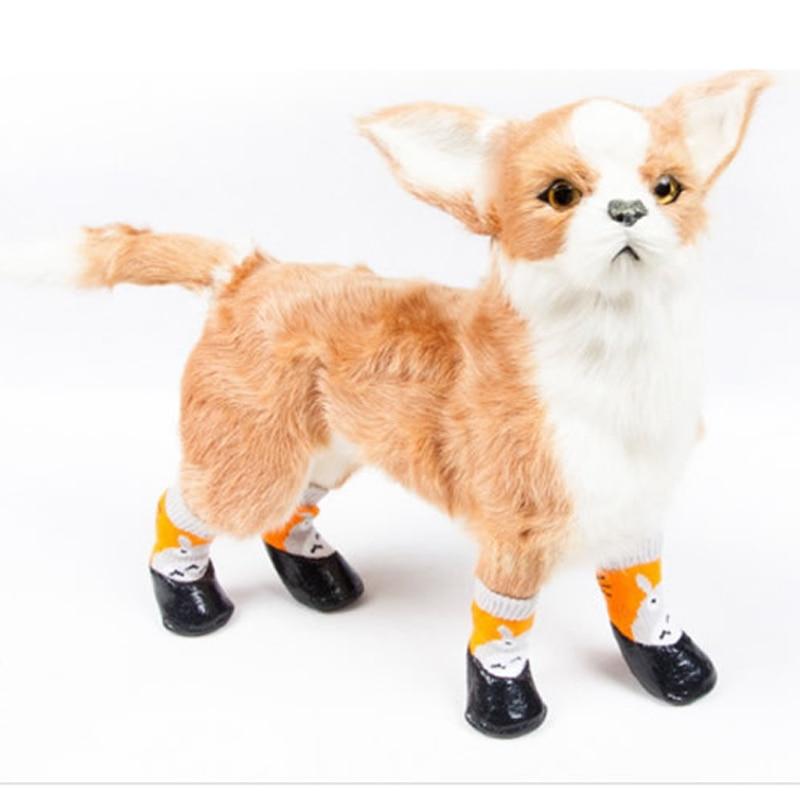 Уличные водонепроницаемые носки для собаки, непромокаемые, Нескользящие, Нескользящие, хлопковые, тянущиеся, кружевные, фиксированные с аксессуарами для домашних животных|Обувь для собак|   | АлиЭкспресс