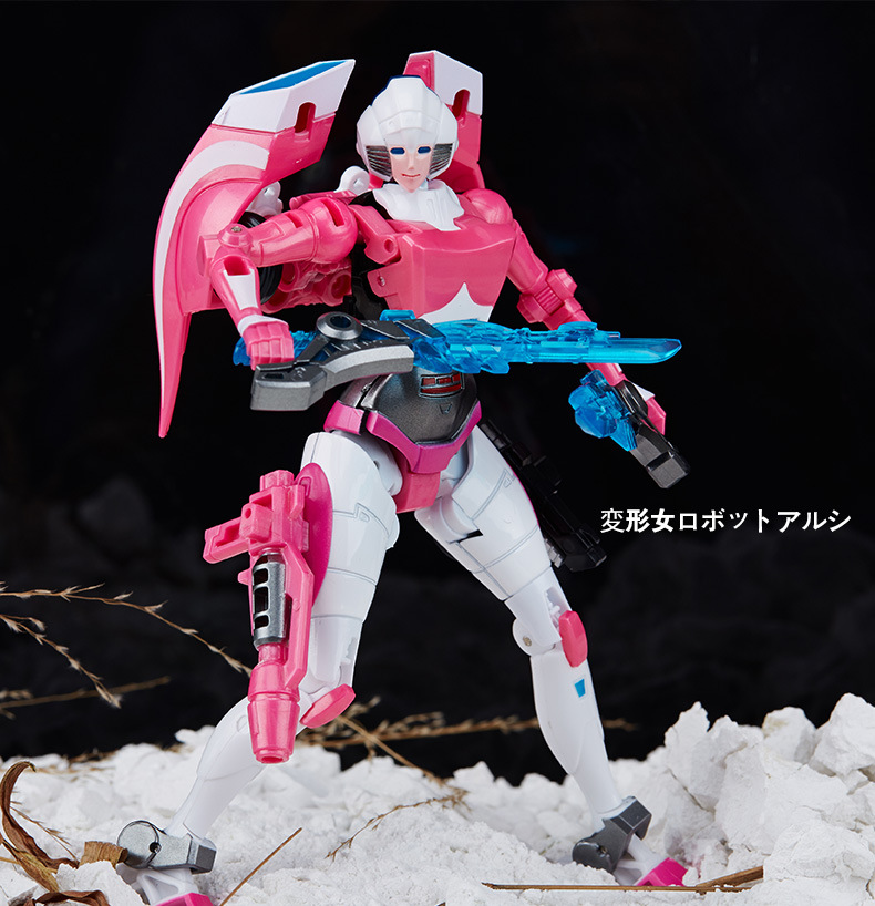 2018 Wei Jiang WJ G1 Transformation Arcee Alloy IDW Oversize Enlarge Female MasterPiece Action Figure Robot Collection Toys [show z store] g creation gdw 03 fuuma sixshot idw transformation action figure