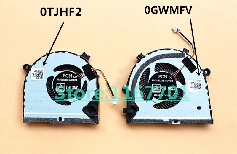 Laptop/Notebook CPU Cooling Fan For Dell G3 G3-3579 <font><b>G5</b></font> <font><b>5587</b></font> 0GWMFV DFS551205M0T-FKB7 DC28000KVF0 0TJHF2 FKB8 DC28000KUF0 image