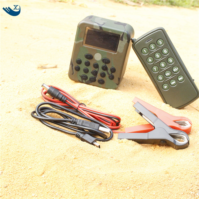 50W Electronics Hunting  Mp3 Bird Caller Sounds Player Built-In 200 Bird Sound Electronic Bird Caller With Remote Control electronics hunting 50w mp3 bird caller sounds player decoy built in 200 mp3 bird sound free bird calls with remote control