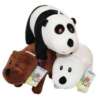 1 шт. 40 см Мы Голые Медведи Носки с рисунком медведя из мультика, мягкие плюшевые игрушки куклы, Grizzly серо-белый медведь панда кукла подарок на...
