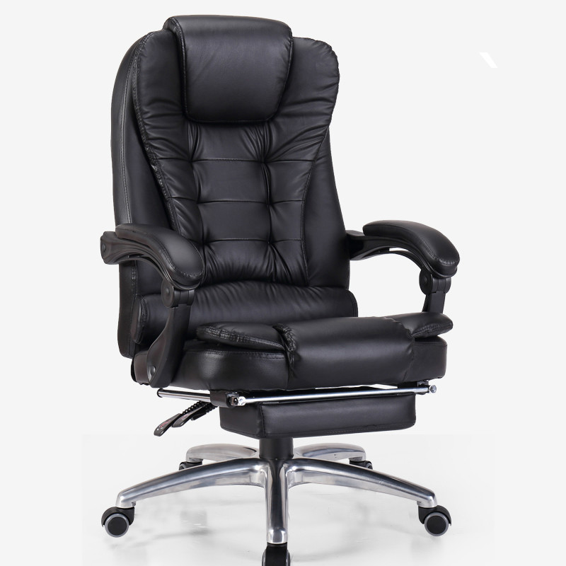 Genuine Leather Office Chair Home Massage Computer Boss Chair Swivel Lifting Gaming Chair Reclining Silla Oficina Silla Gamer