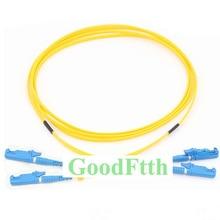 Fiber Patch Cord Jumper E2000/UPC-E2000/UPC E2000-E2000 UPC SM Duplex GoodFtth 20-50m fiber patch cord jumper e2000 upc sc upc e2000 sc upc sm duplex goodftth 100 500m