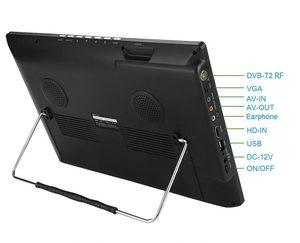 Image 5 - LEADSTAR D14 14นิ้วLED TVดิจิตอลAC3 DVB T T2 Analog ATSCทีวีแบบพกพาHDMI USB TF TVโปรแกรมCar Chargerของขวัญ