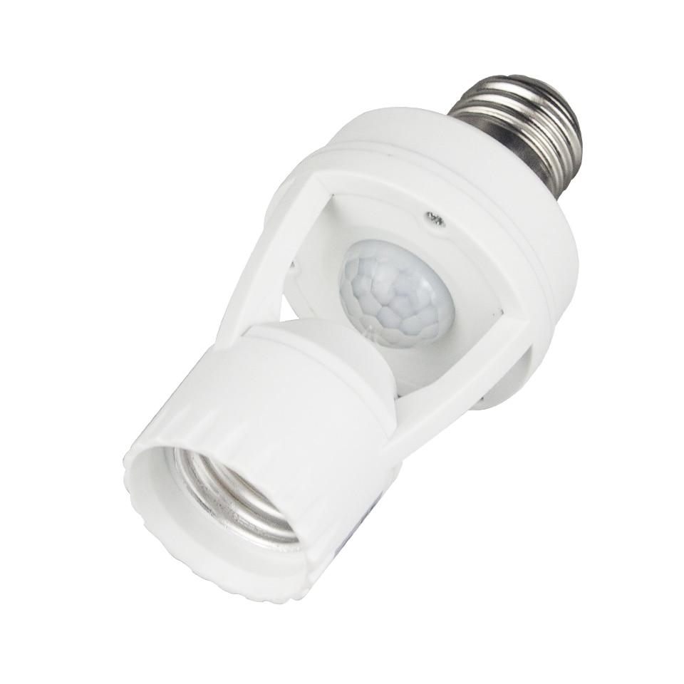 Bases da Lâmpada luz 110 v-240 v e27 Características : Pir Motion Sensor Holder
