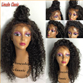 Glueless Full Lace Human Hair Wigs For Black Women Brazilian Virgin Hair Lace Front Wig With Baby Hair Deep Curly Full Lace Wigs