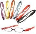 2015 calidad de la marca de moda las gafas de lectura Plegable portátil ultra-ligero de resina viejas ópticas