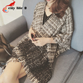 Tassel Scarf Women Autumn 2015 New Product Mixed Color Shawl Cardigan All-Match Echarpes Foulards Femme