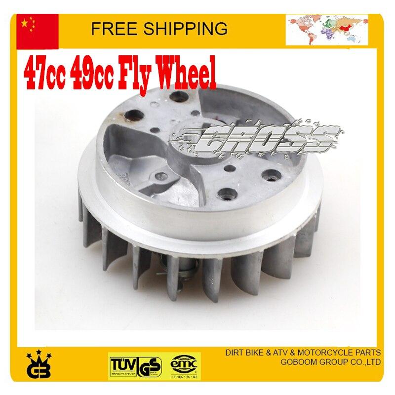49cc 49cc 50cc Fly Wheel Mini Pocket Bike Mini Atv Quad Flywheel