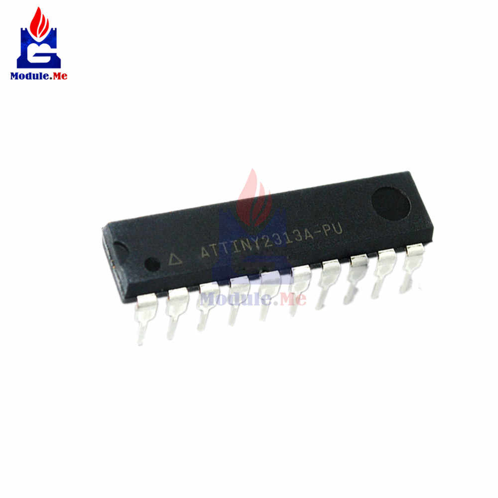 Detail Feedback Questions About 1 Pc Ic Chips Attiny2313a Pu Integrated Circuit Attiny2313 Dip20 8 Bit Microcontroller Orginal