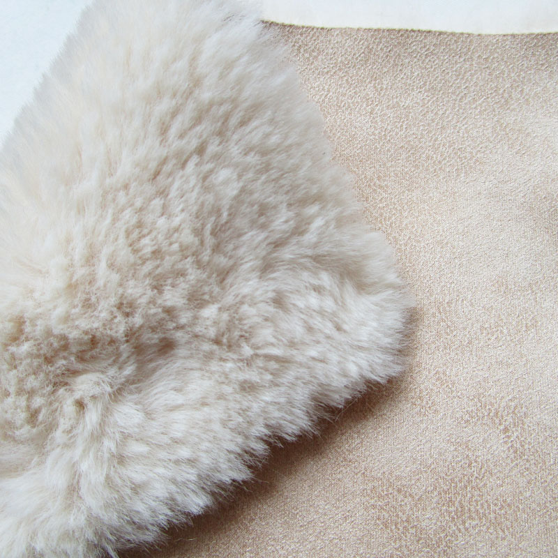 90cm*160cm New fashion soft high quality faux fox fur fabric french winter keep warm cost handmade sewing animal specimen fabric