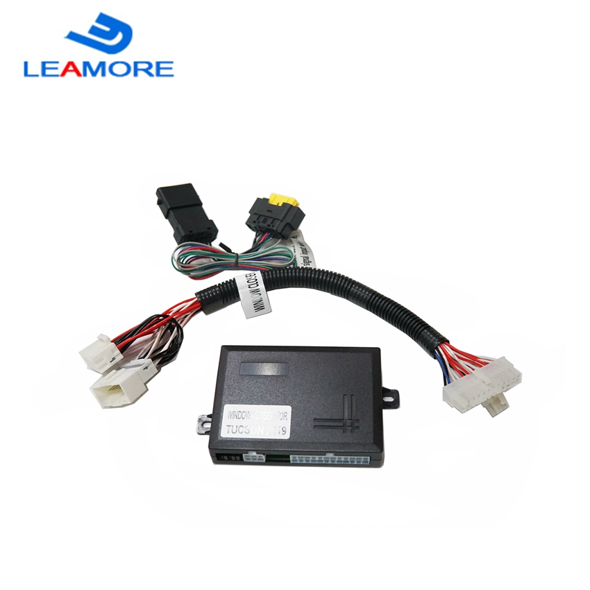 LY-LEAMORE Auto Power Window Closer For Tucson 2019 Window Close &Open Function Only Suitable Two Fornt Windows With Auto Bottun