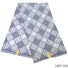 Hot Sale nigerian ankara Wax Fabric African Wax Prints Fabric High Quality 100% Polyester Veritable Wax 6 Yards/Pcs 1307-23 20 pcs high quality 100