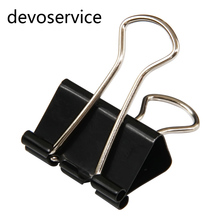 Metal Binder Clips Paper Clip 51mm Office Learning Supplies