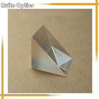 2pcs 34x34x40mm K9 Optical Glass Right Angle Prism For Optical Experiment Optical Instruments Rainbow Principle Research