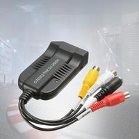 1pc Top Quality 1080P HDMI To S Video AV Converter Adapter HDMI To S Video AV