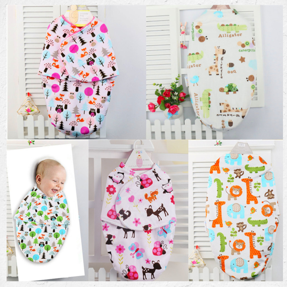 Baby Swaddling Blankets Newborn Infant 100% Towel Wrap Soft Flannel Parisarc Envelope Double Layer Cotton Swaddle